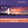 Join the 4AM PEACE EXPERIENCE