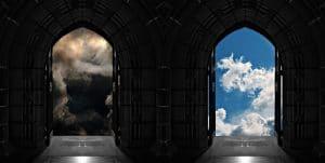 Doorways to heaven or hell